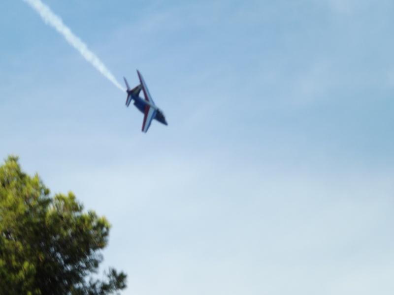 patrouille de France dans le ciel de Toulon en 2013 aout Patrou21
