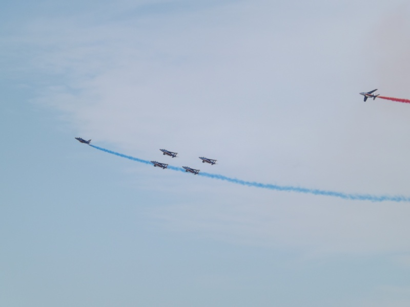 patrouille de France dans le ciel de Toulon en 2013 aout Patrou29