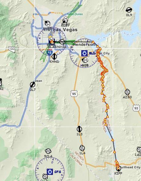 Voyage découverte le Grand Canyon   1 étape et étape 2 Trajet11