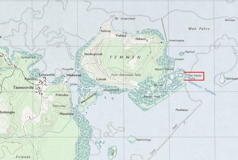 Nan Madol, ancienne capitale des Saudeleurs, Ile Ponape (ou pohnpei) - Micronésie Captur18