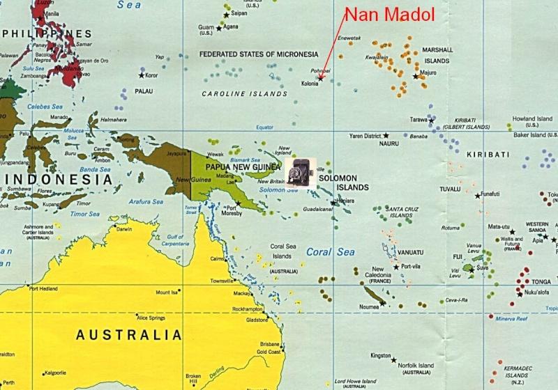 Nan Madol, ancienne capitale des Saudeleurs, Ile Ponape (ou pohnpei) - Micronésie Captur19
