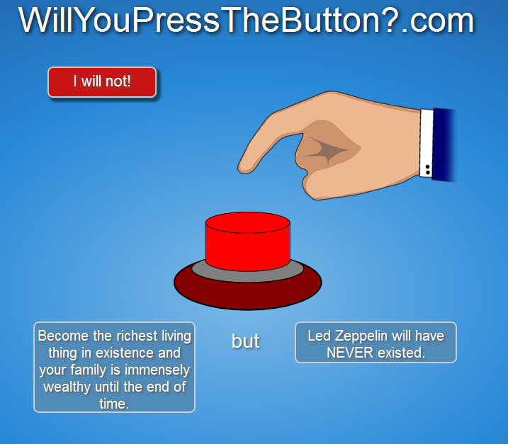 will you press the button? Dumb110