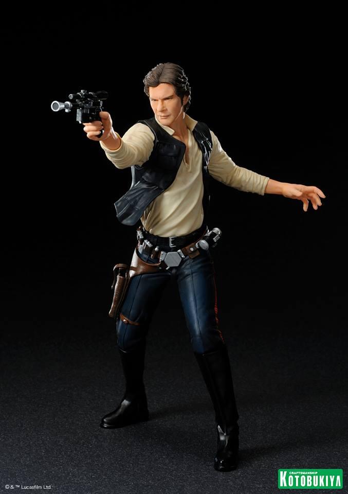 Kotobukiya - Han Solo & Chewbacca - ARTFX+ Statues 2 packs 10006310