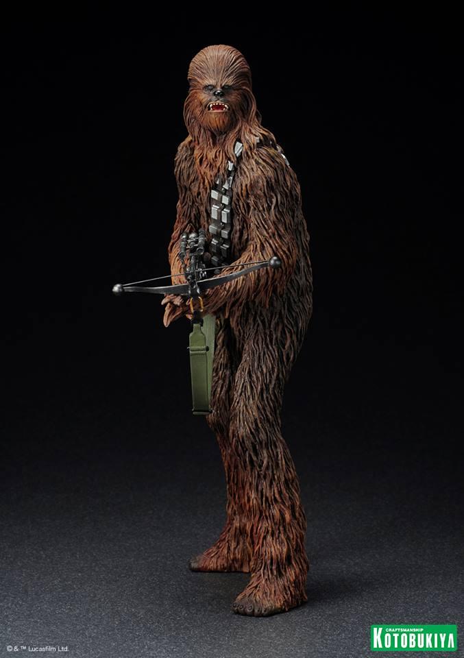 Kotobukiya - Han Solo & Chewbacca - ARTFX+ Statues 2 packs 10151810