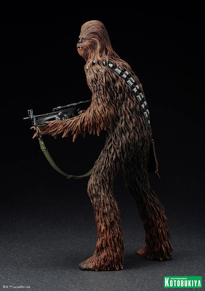 Kotobukiya - Han Solo & Chewbacca - ARTFX+ Statues 2 packs 10174810