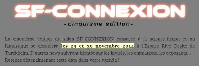SF-Connexion V - 29 et 30/11 2014 - Turckheim (Alsace-68)  10299910