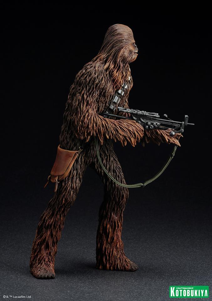 Kotobukiya - Han Solo & Chewbacca - ARTFX+ Statues 2 packs 15460210