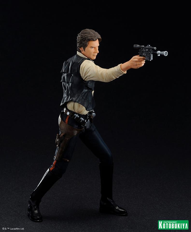 Kotobukiya - Han Solo & Chewbacca - ARTFX+ Statues 2 packs 16010810