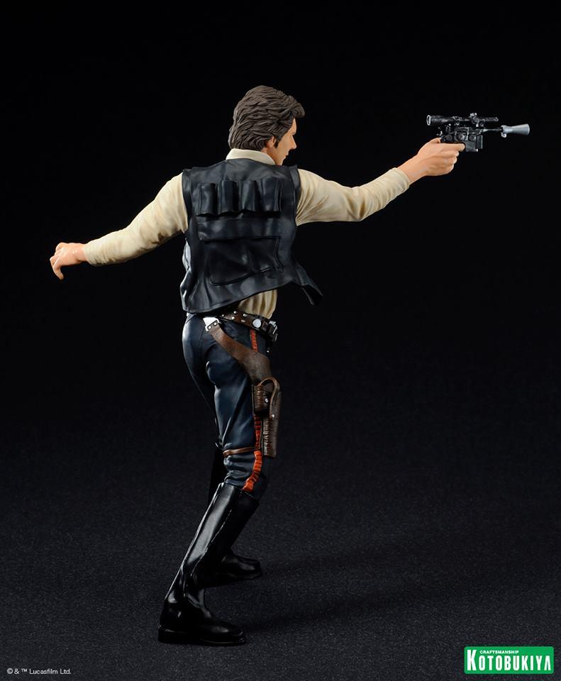 Kotobukiya - Han Solo & Chewbacca - ARTFX+ Statues 2 packs 19724410