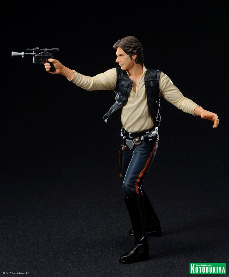 Kotobukiya - Han Solo & Chewbacca - ARTFX+ Statues 2 packs 19796010