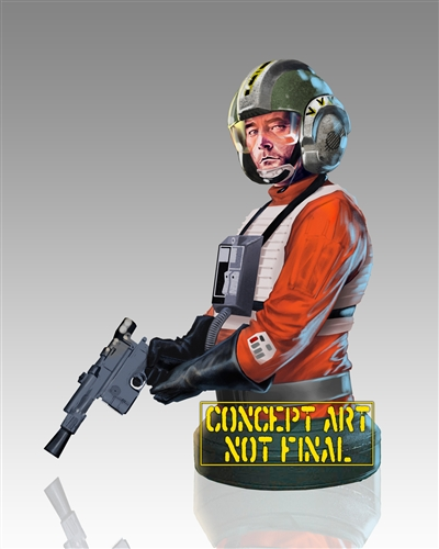 Gentle Giant - Wedge Antilles Mini Bust - PGM 80390-10