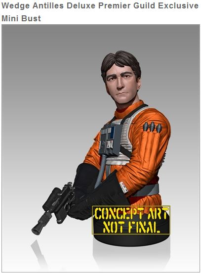Gentle Giant - Wedge Antilles Mini Bust - PGM Captur10