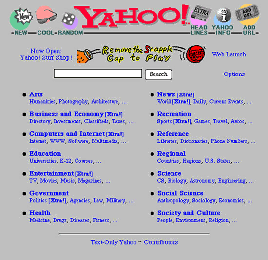 Souvenez-vous d'Internet en 1995 Yahoo_10