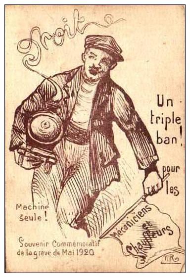 Conseil municipal de Chantonnay - 9 mai 1920 - Grève antipatriotique des cheminots 812_0010