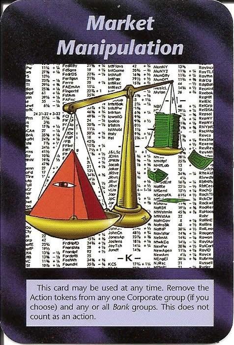Steve Jackson 95' JUEGOS DE CARTAS PREMONITORIAS P0110