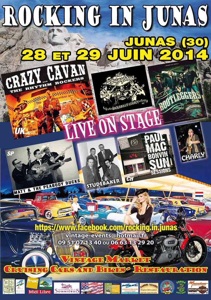 Festival Country Rock - 28-29 juin 2014 - Junas Affich11
