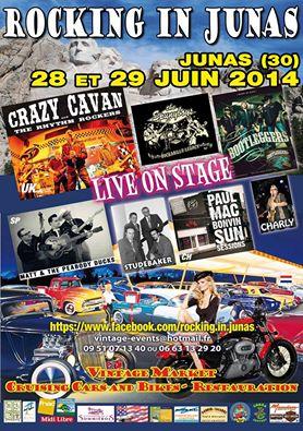 Festival Country Rock - 28-29 juin 2014 - Junas Rockin10