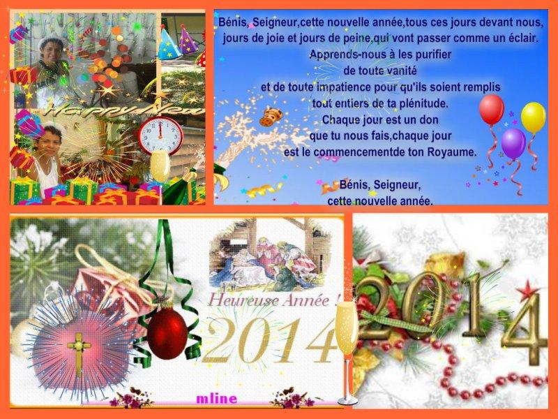 """Bonne résolution """"Noël...VOEUX Nouvelle année 2014"""" Pizap_38"""