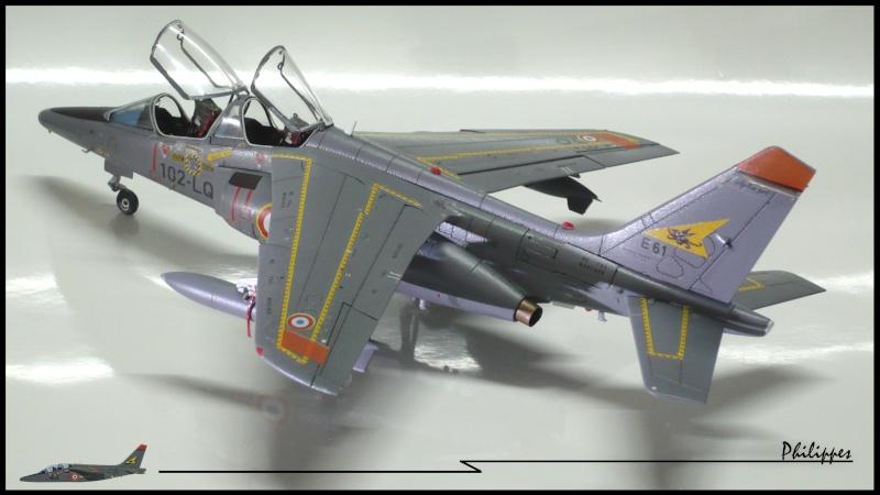 Alphajet Kinetic 1/48 + décalques FFSMC P1020616
