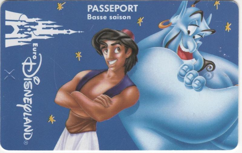 Passeport Disneyland Paris 00111