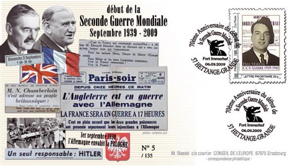 57 - Hettange-Grande - Club philatélique Hettangeois 5710