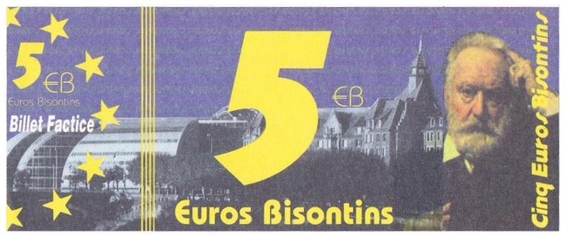 Premiers billets en Ecu/Euro 5euro10