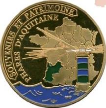 Souvenirs et Patrimoine 40mm  Aquita11
