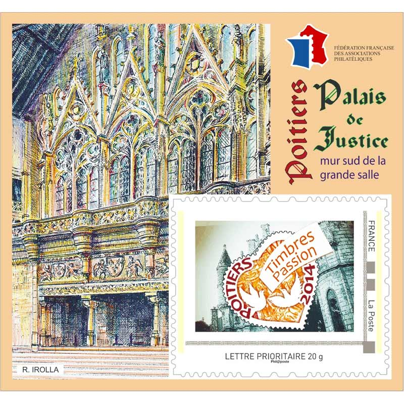 86 - Poitiers - Timbres Passion  Bkffap10