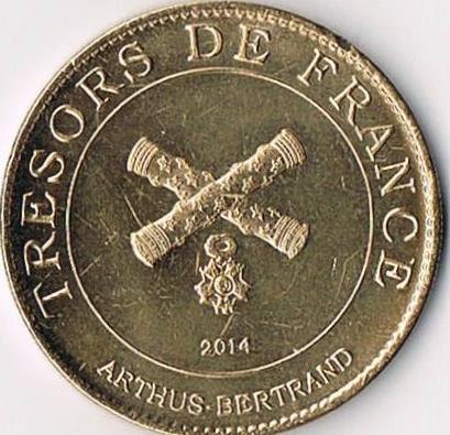Revers Trésors de France Ccf01010