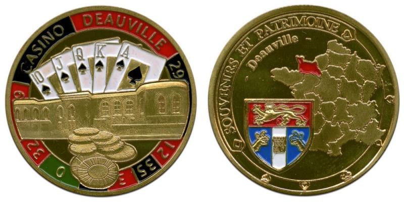 Souvenirs et Patrimoine 34mm  Deauvi10
