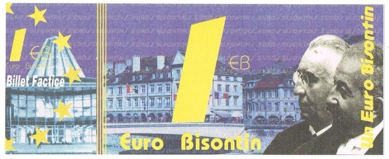Premiers billets en Ecu/Euro Euro10