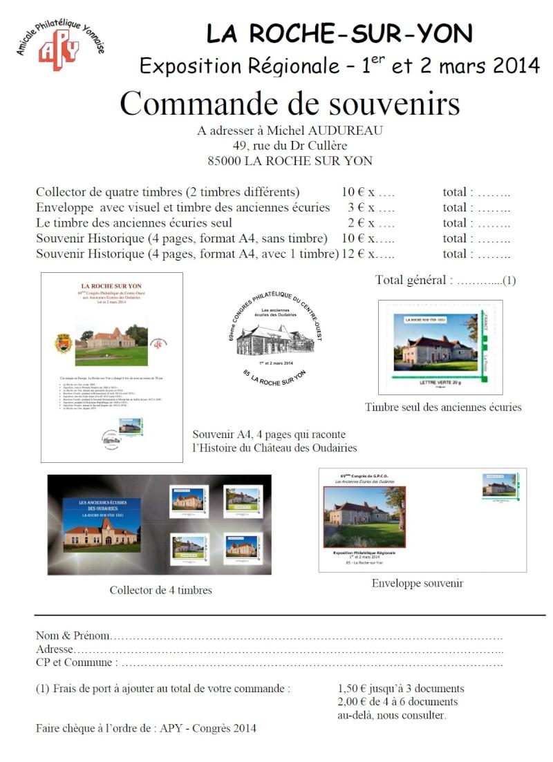 85 - La Roche-sur -Yon - Association Philatélique Yonnaise Laroch10