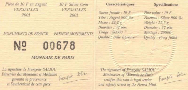 Mdp 37mm franc Argent Mdp10