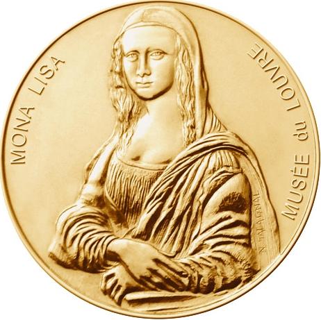 Médailles et Patrimoine = 21 Mona-l10