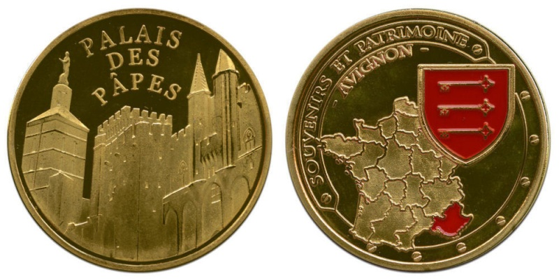 Souvenirs et Patrimoine 34mm  Palais10