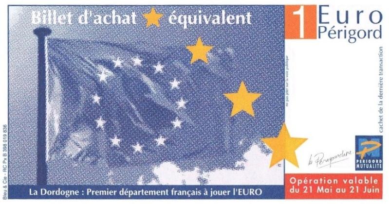 Premiers billets en Ecu/Euro Perigo11