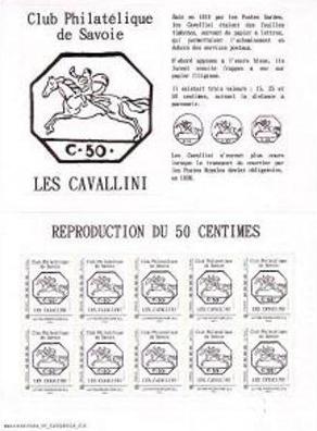 73 - Chambéry - Club Philatélique de Savoie Savoie12