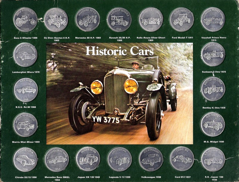 Shell - Historic Cars Sh10