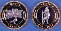 Nemery bimétallique = 26 Verdun10