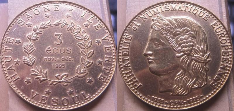 Les Euros et Ecus J.BALME Vesoul11