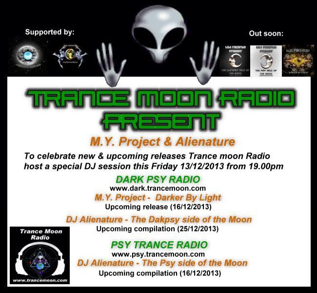 Special DJ session & Live at Trance Moon radio Specia10