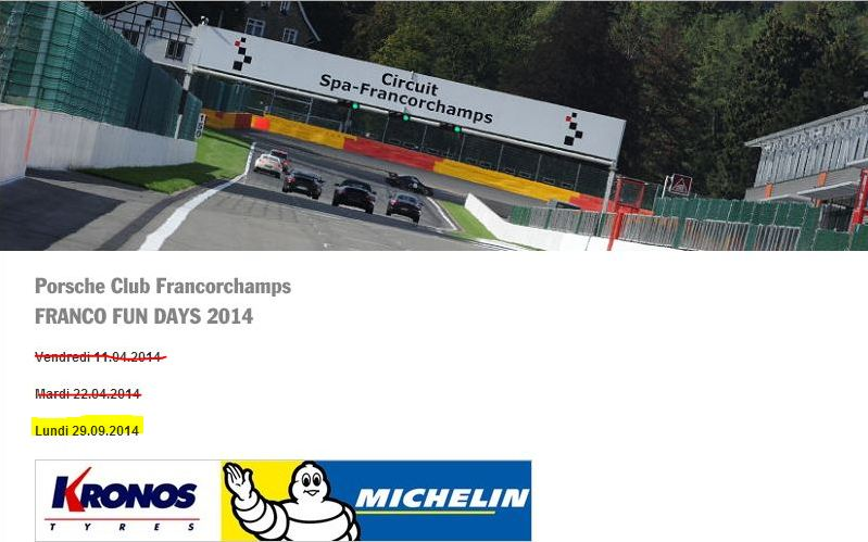 Journée circuit à Francorchamps le 29 septembre 2014 Franco11