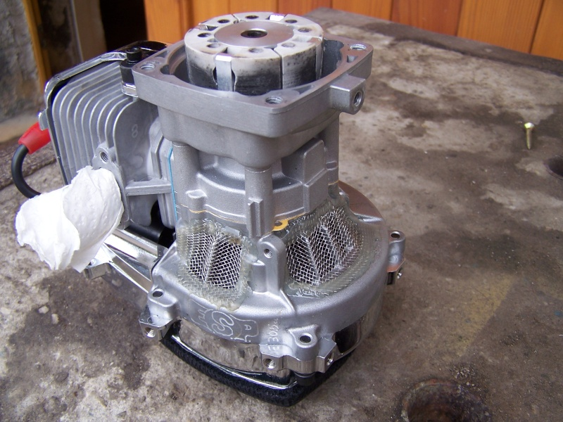 Protection d'entrée d'air du carter moteur 00210