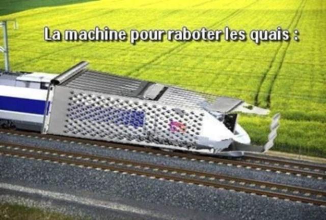 Humour en image du Forum Passion-Harley  ... - Page 37 Train10