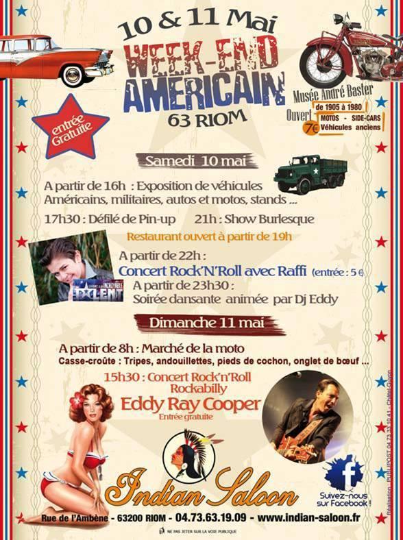 American Day à l'Indian Saloon - Riom (63) - 10/11 mai 2014 15577110