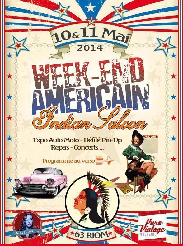 American Day à l'Indian Saloon - Riom (63) - 10/11 mai 2014 19667110