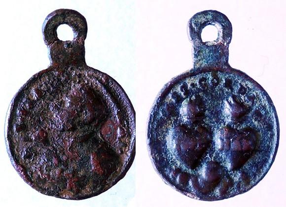 asis - Algunas medallas sobre San Francisco de Asís Frana_10