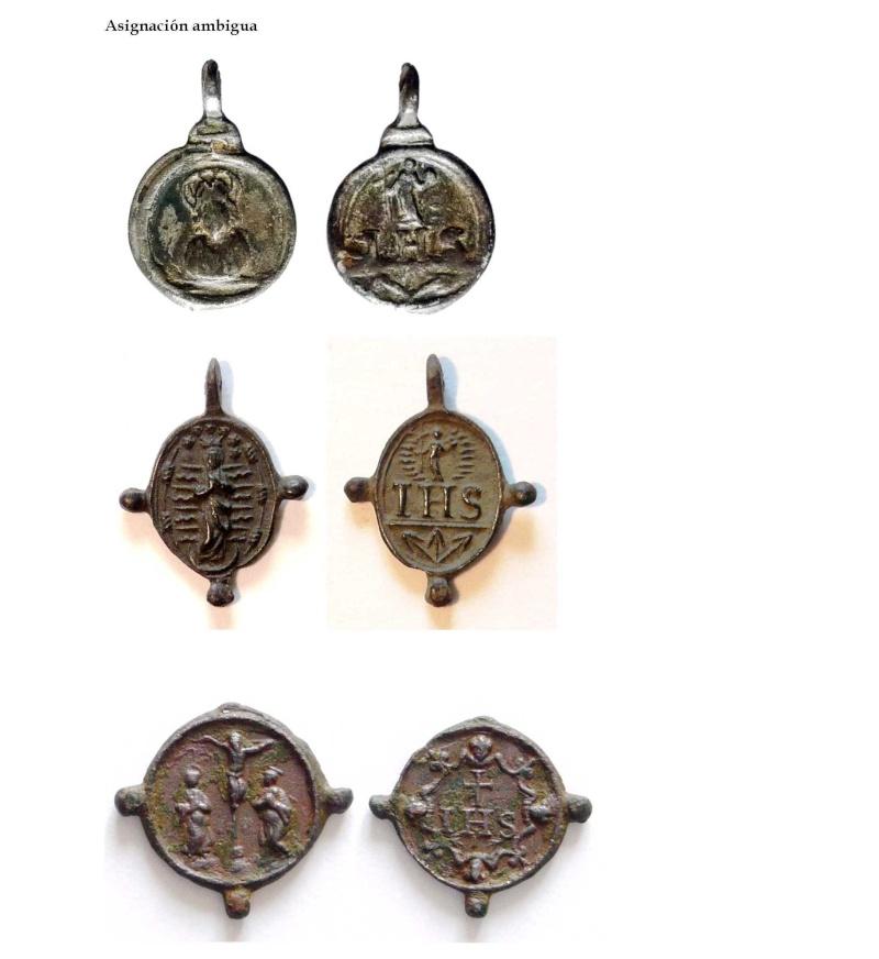 Medalla Inmaculada Concepción / Nomina Sacra IHS (R.M. SXVII-O295) La_asi10