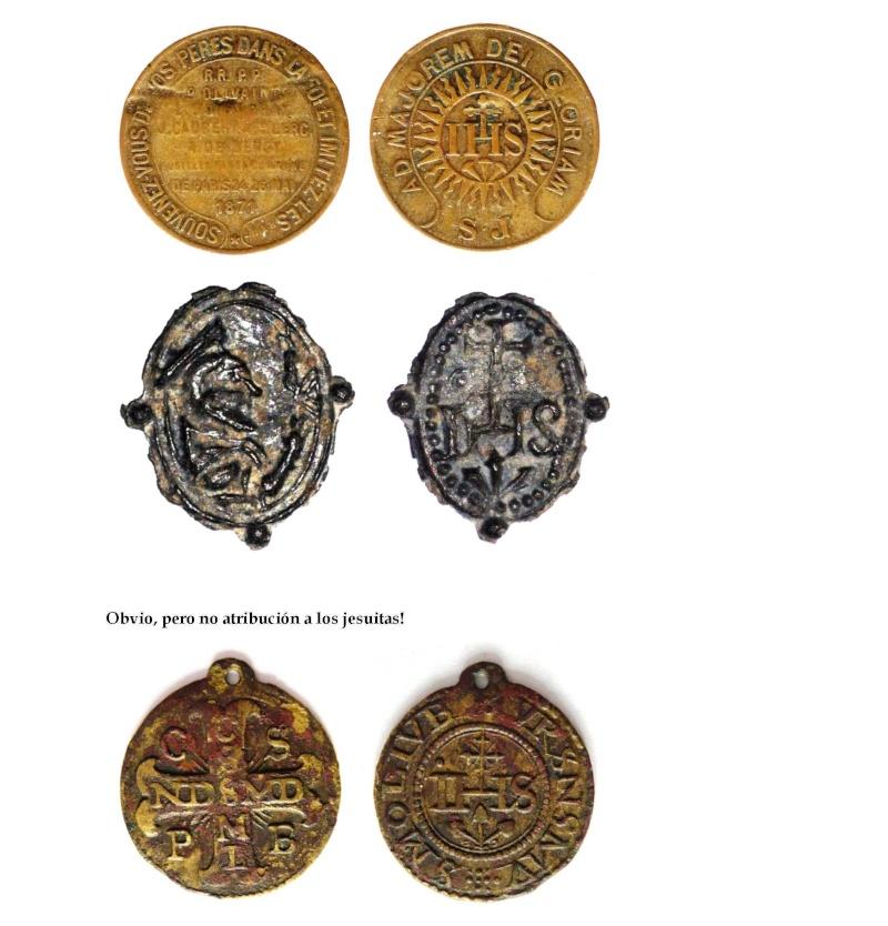 Medalla Inmaculada Concepción / Nomina Sacra IHS (R.M. SXVII-O295) La_asi12