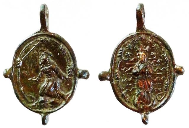 asis - Algunas medallas sobre San Francisco de Asís Sans_t13
